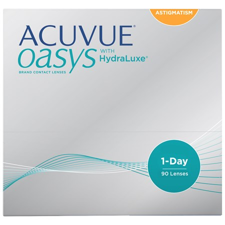 ACUVUE OASYS 1-Day for Astigmatism 90pk contacts