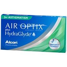 AIR OPTIX plus HYDRAGLYDE for Astigmatism contacts