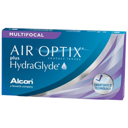 AIR OPTIX plus HydraGlyde Multifocal contacts