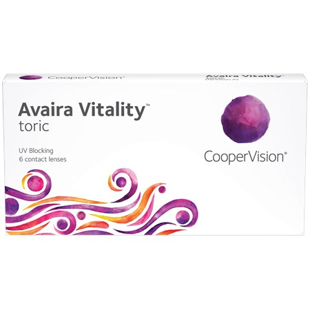 Avaira Vitality Toric contacts