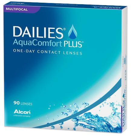 DAILIES AQUACOMFORT PLUS Multifocal 90pk contacts