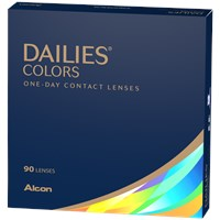 DAILIES Colors 90pk contacts