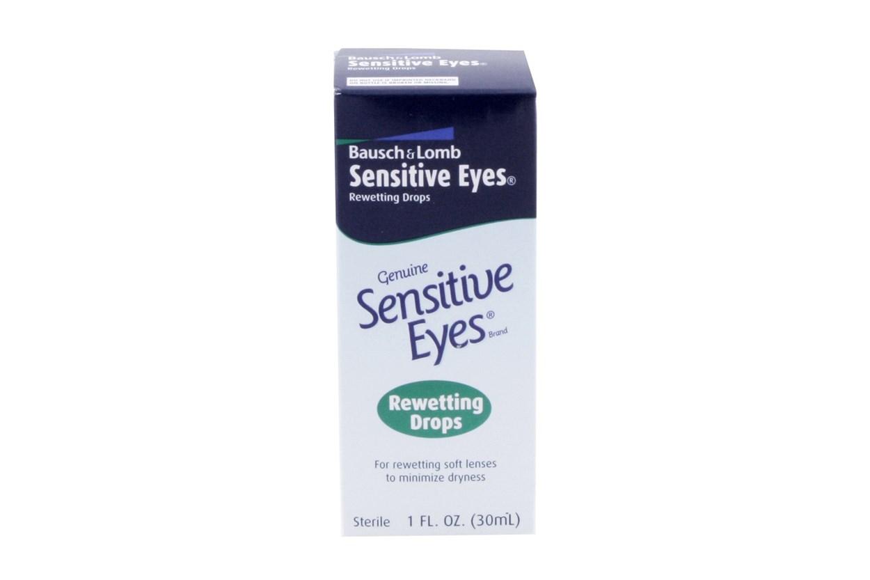 Bausch and Lomb Sensitive Eyes Contact Lens Rewetting Drops (1 fl. oz.) DryRedEyeTreatments