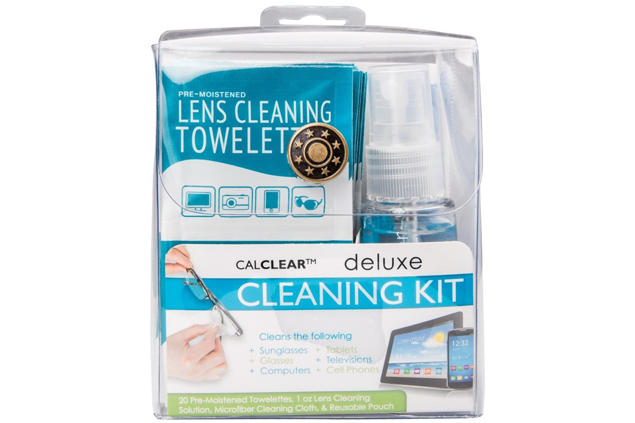 CalOptix Deluxe Eyeglasses and Sunglasses Cleaning Kit GlassesCleaners