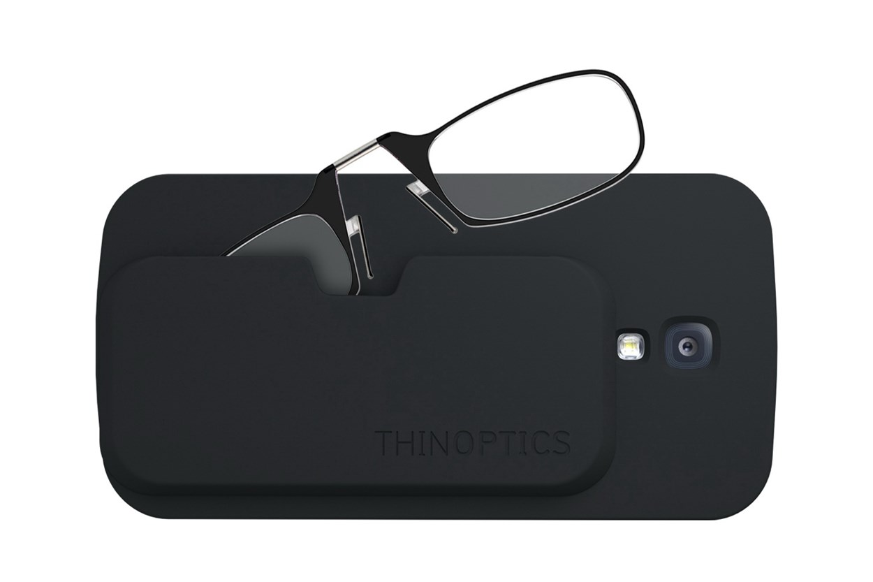 ThinOPTICS Reading Glasses with Phone Case Bundle