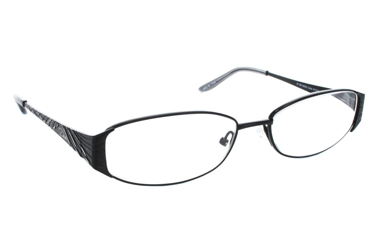 Dea Extended Size Celia Reading Glasses  - Silver