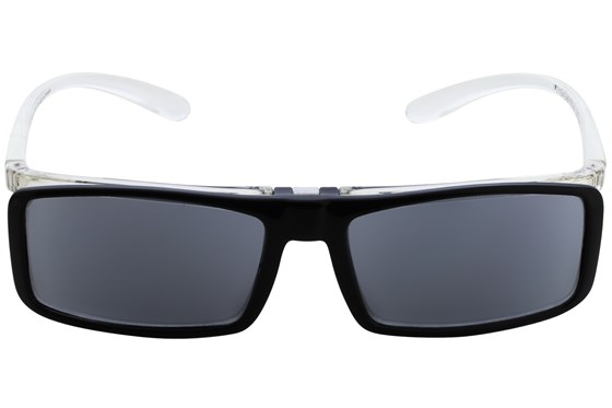 I Heart Eyewear Flip-Up Reading Sunglasses ReadingGlasses - Black