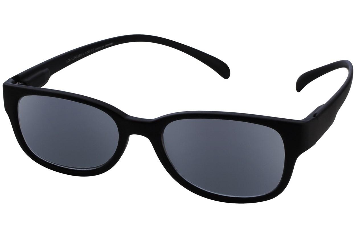 Alternate Image 1 - I Heart Eyewear Neck Hanging Reading Sunglasses ReadingGlasses - Black