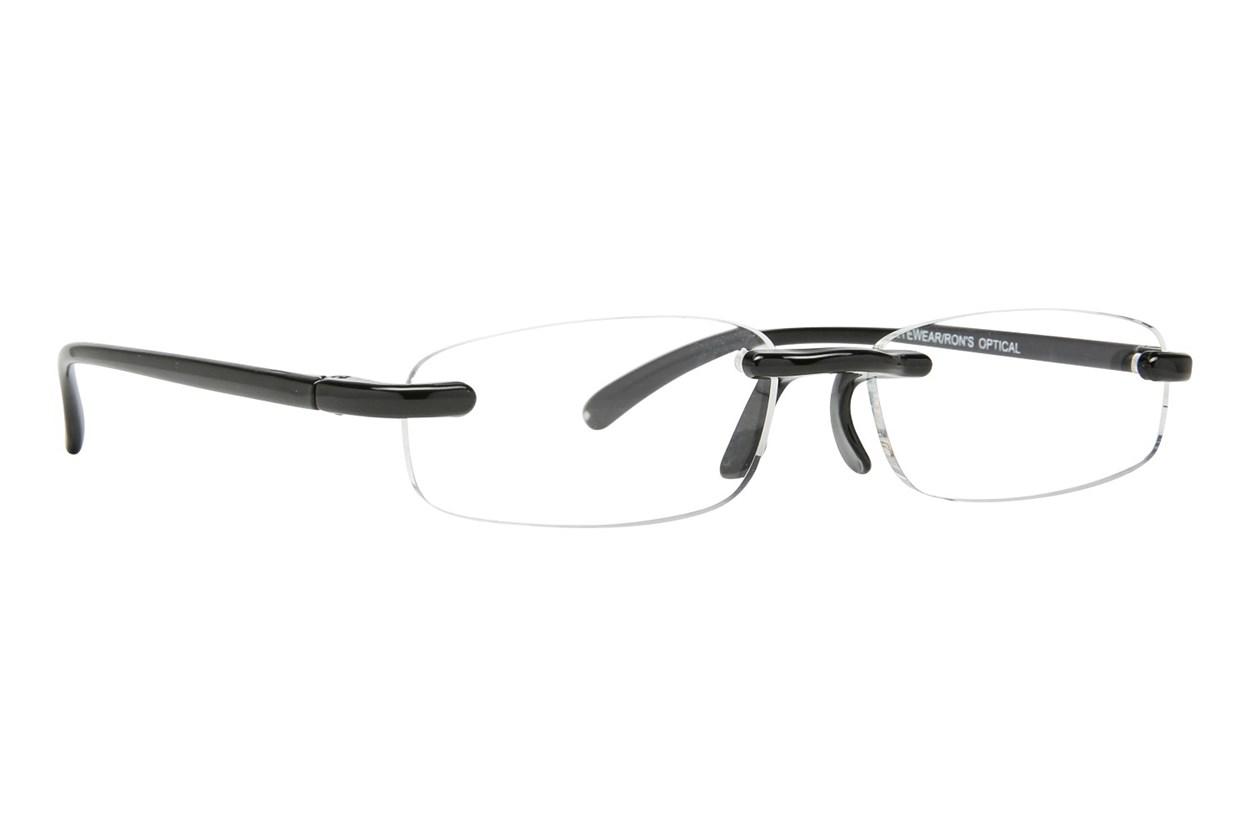 I Heart Eyewear Twisted Specs  - Black
