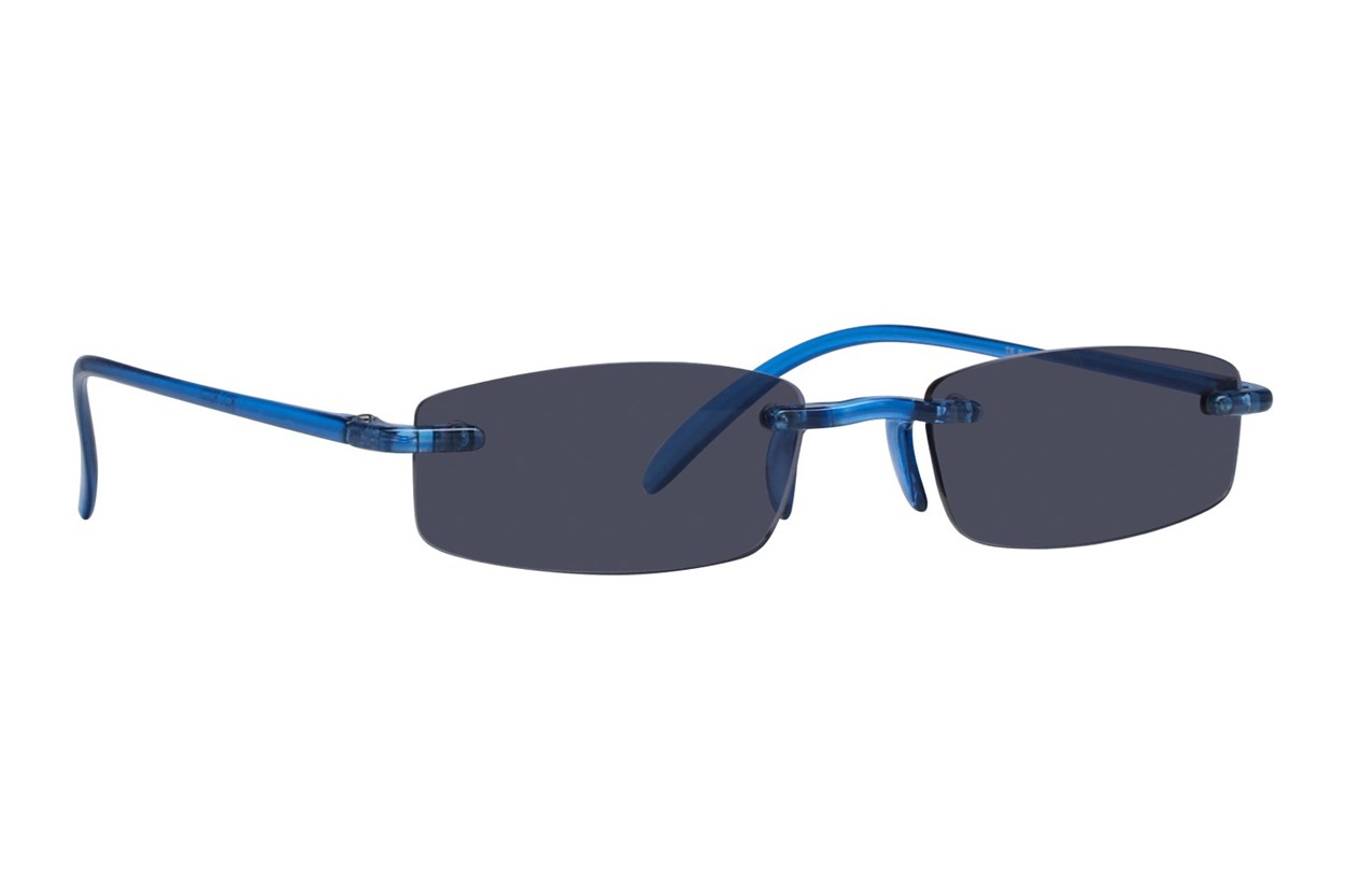 I Heart Eyewear Twisted Sun Specs  - Blue
