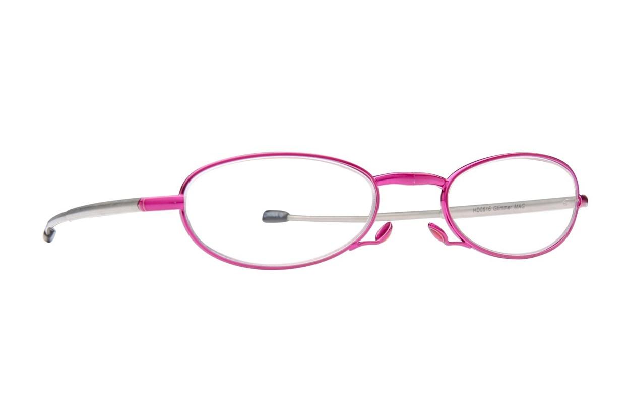 Foster Grant Gideon Glimmer Microvision Reading Glasses  - Purple