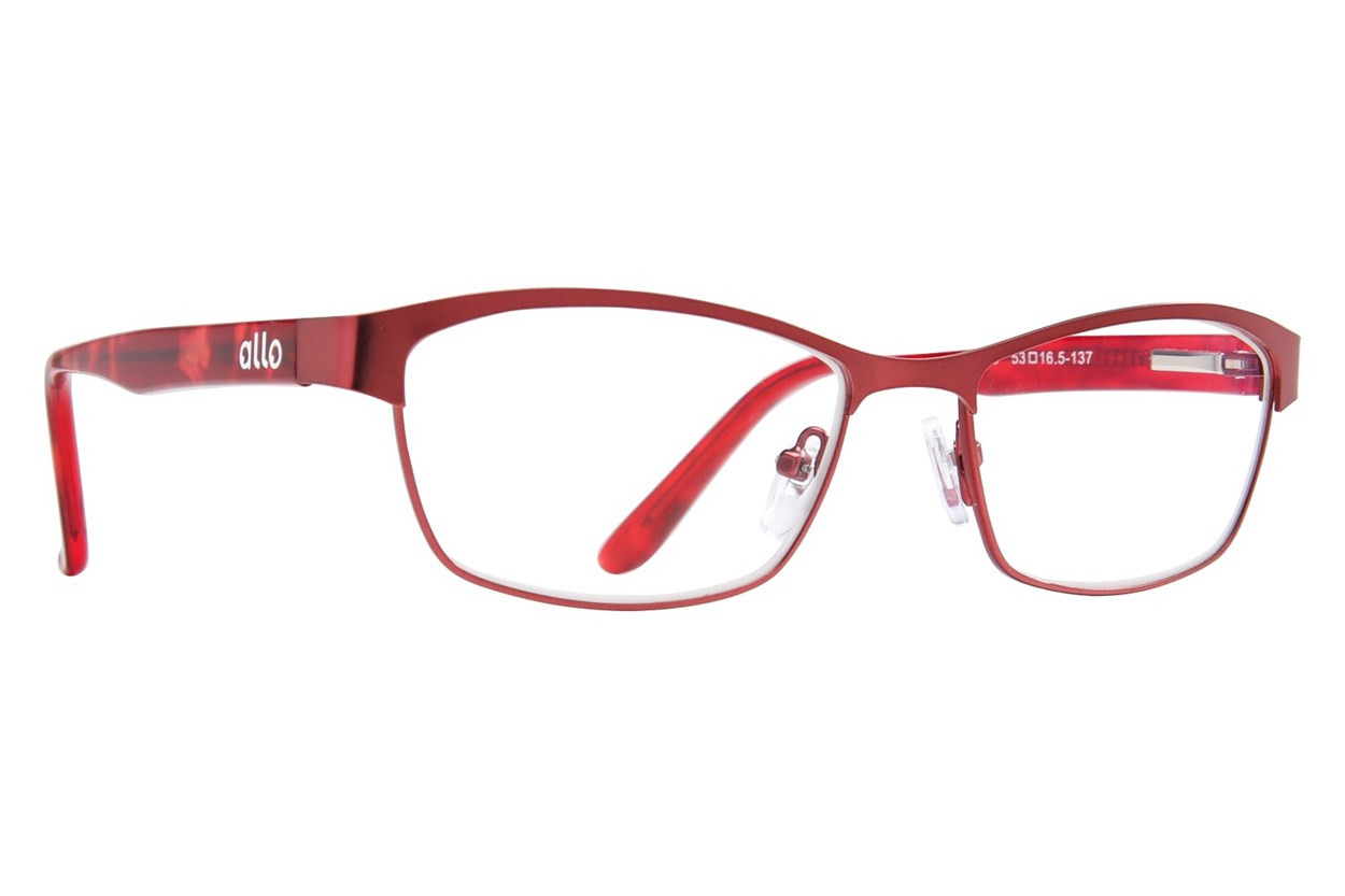 allo Bonjour Reading Glasses  - Red