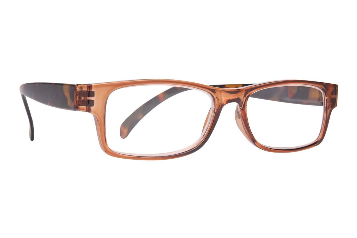 Evolutioneyes EY8354Z Reading Glasses  - Brown