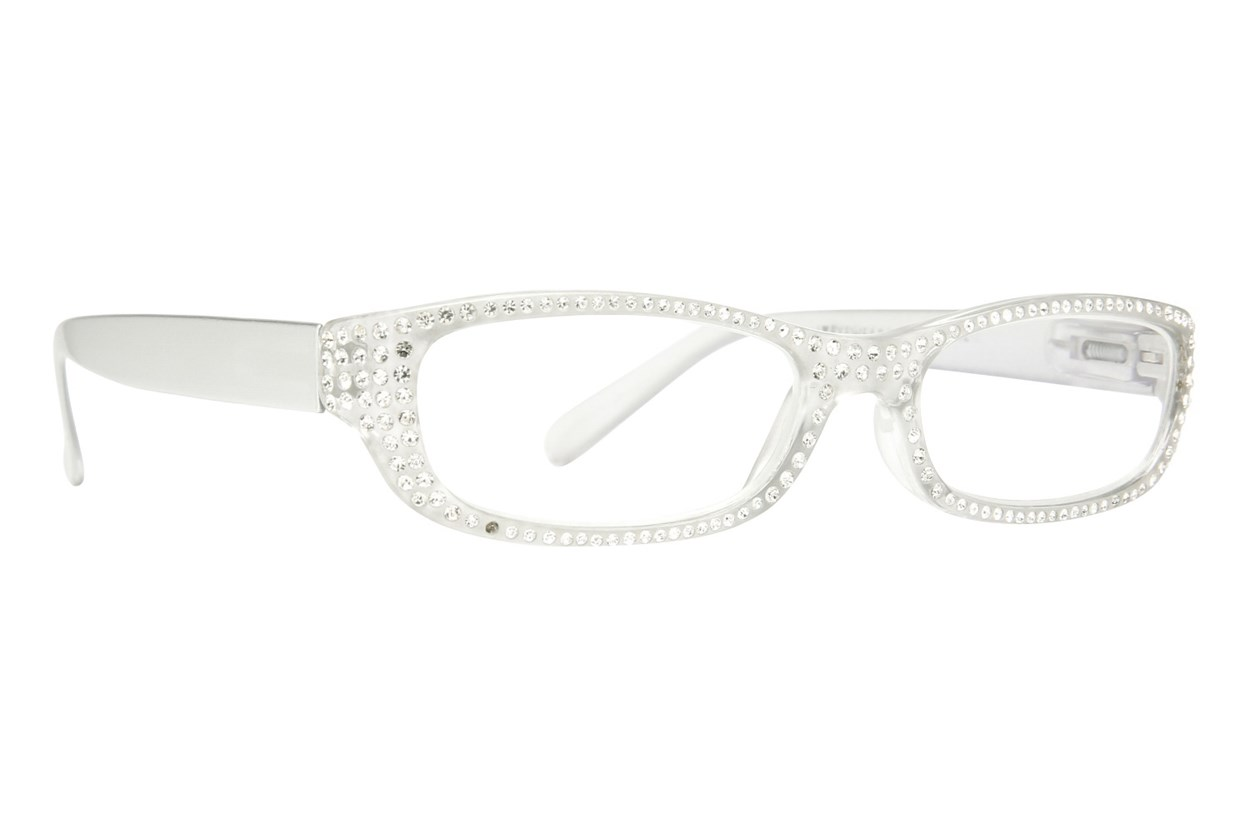 Eye Candy Sophisticated Specs Reading Glasses  - Clear