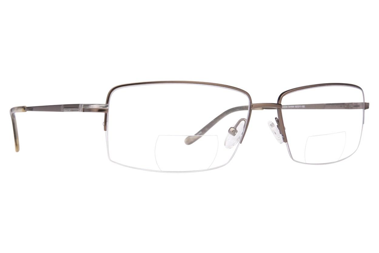 John Raymond Shank Reading Glasses  - Gray