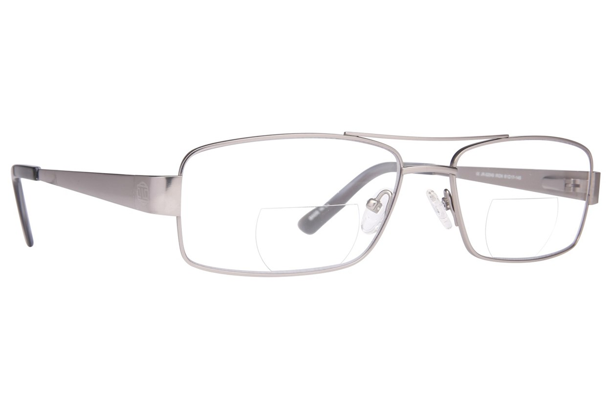 John Raymond Iron Reading Glasses  - Gray