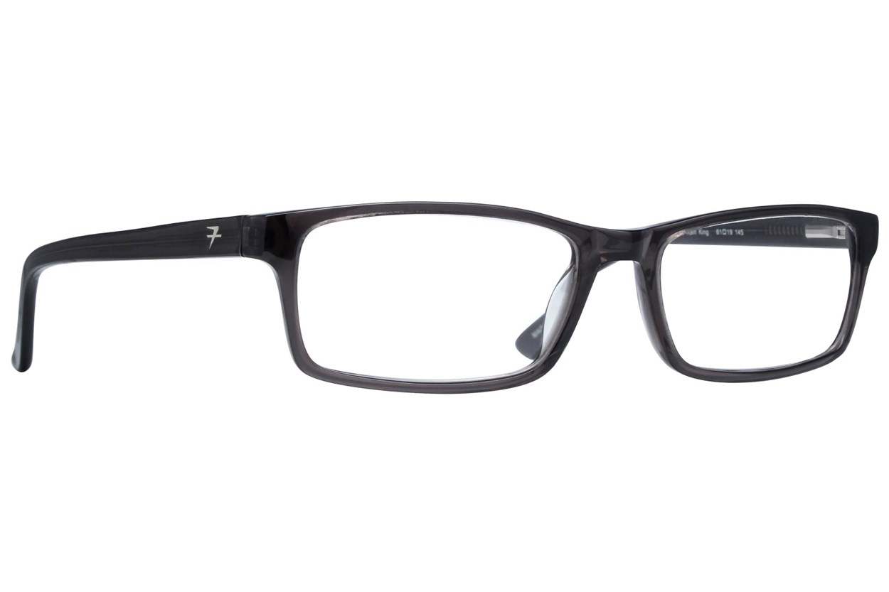 Fatheadz Rain King Reading Glasses  - Gray