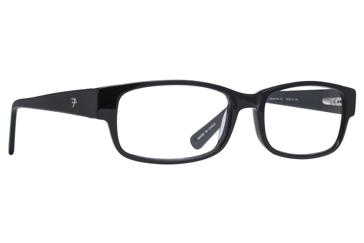 Fatheadz Jaxonian Reading Glasses  - Black