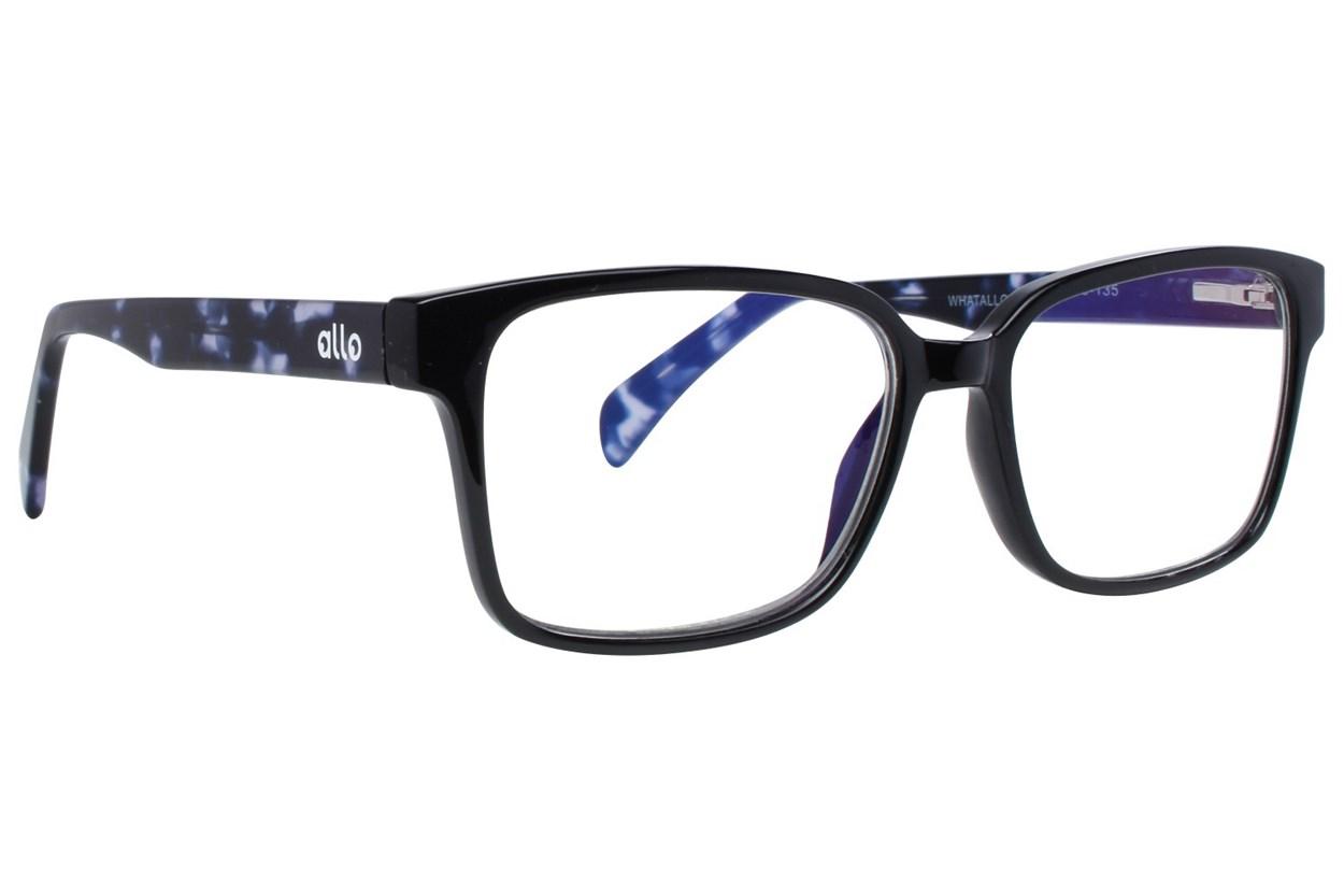 allo What Reading Glasses  - Black