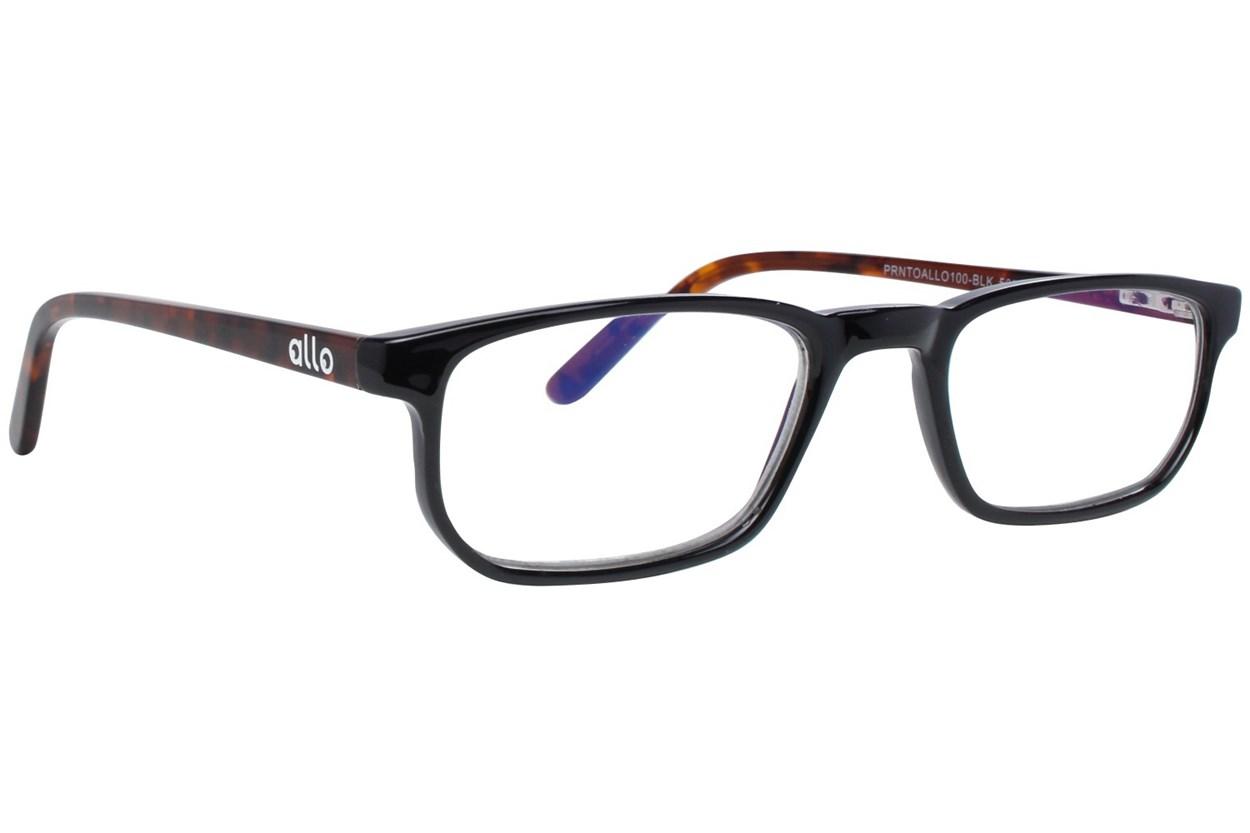allo Prnto Reading Glasses  - Black