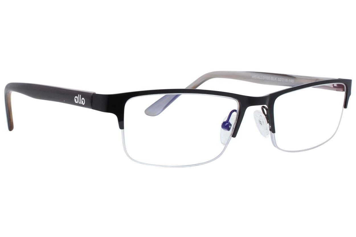 allo Wei Reading Glasses  - Black